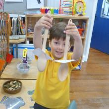 Puppet making for story telling
