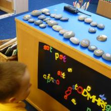 Making words using sounds